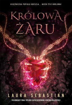 Okładka książki - Królowa Żaru