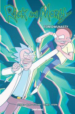 Okładka książki - Rick i Morty. Tom 12