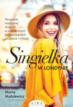 Okładka książki - Singielka w Londynie