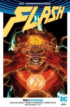Okładka książki - Flash  Ucieczka, tom 4
