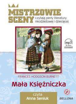 Okładka książki - Mała księżniczka.  Audiobook