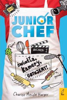 Okładka książki - JuniorChef. Światła, kamery, gotujemy! Tom 1