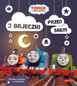 Okładka książki - Tomek i przyjaciele. 3 bajeczki przed snem