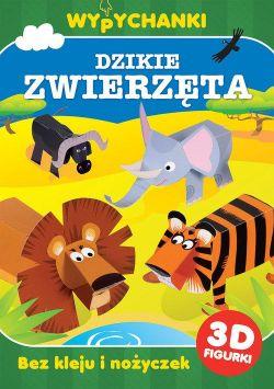 Okładka książki - Dzikie zwierzęta. Wypychanki