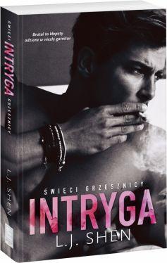 Okładka książki - Intryga