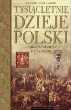 Okładka książki - Tysiącletnie dzieje Polski