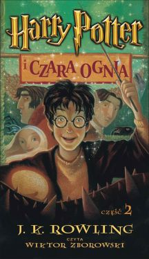 Okładka książki - Harry Potter i Czara Ognia (audiobook)