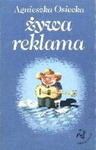 Okładka książki - Żywa reklama