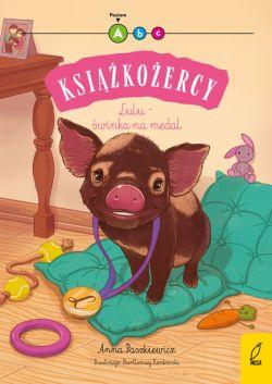 Okładka książki - Książkożercy. Lulu - świnka na medal. Poziom A