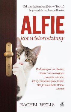 Okładka książki - Alfie. Kot wielorodzinny