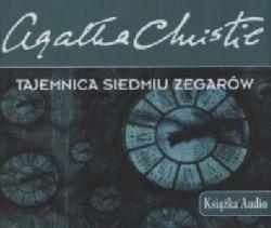 Okładka książki - Tajemnica siedmiu zegarów. Audiobook