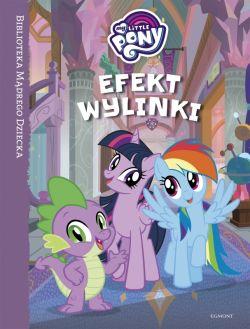 Okładka książki - Efekt wylinki. My Little Pony