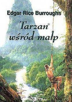 Okładka książki - Tarzan wśród małp