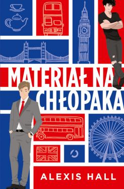 Okładka książki - Materiał na chłopaka