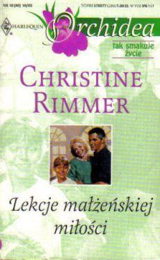 Okładka książki - Lekcje małżeńskiej miłości