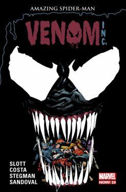 Okładka książki - Amazing Spider-Man. Globalna sieć: Venom Inc. Tom 8