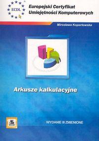 Okładka książki - Arkusze kalkulacyjne