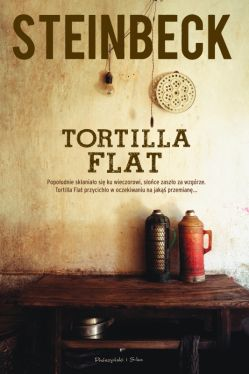 Okładka książki - Tortilla Flat