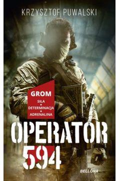 Okładka książki - Operator 594