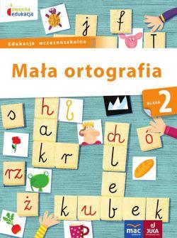 Okładka książki - Mała ortografia kl.2