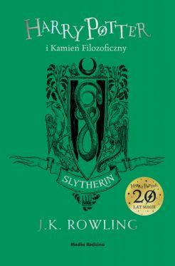 Okładka książki - Harry Potter i kamień filozoficzny (Gryffindor)