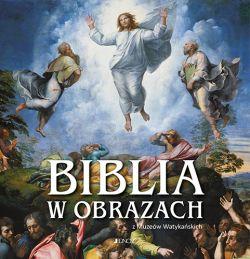 Okładka książki - Biblia w obrazach z Muzeów Watykańskich