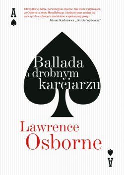 Okładka książki - Ballada o drobnym karciarzu
