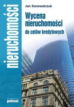 Okładka książki - Wycena nieruchomości do celów kredytowych