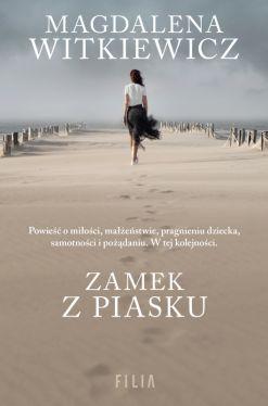 Okładka książki - Zamek z piasku