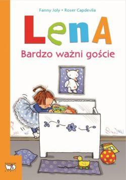 Okładka książki -  Lena. Bardzo ważni goście