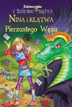 Okładka książki - Nina i Klątwa Pierzastego Węża