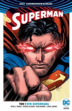 Okładka książki - Superman  Syn Supermana, tom 1