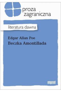 Okładka książki - Beczka Amontillada