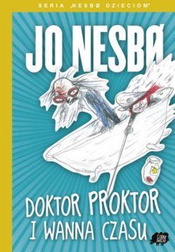 Okładka książki - Doktor Proktor i wanna czasu