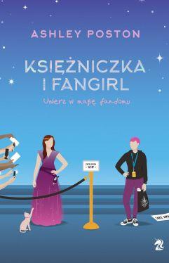 Okładka książki -  Księżniczka i fangirl