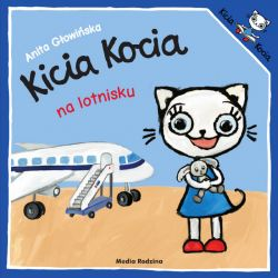 Okładka książki - Kicia Kocia na lotnisku