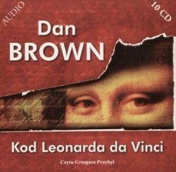 Okładka książki - Kod Leonarda da Vinci - audiobook
