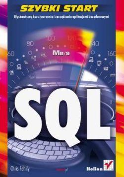 Okładka książki - SQL. Szybki start
