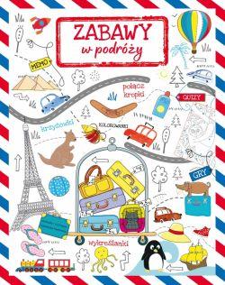 Okładka książki - Zabawy w podróży