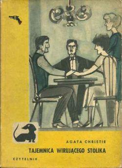 Okładka książki - Tajemnica wirującego stolika