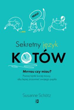 Okładka książki - Sekretny język kotów