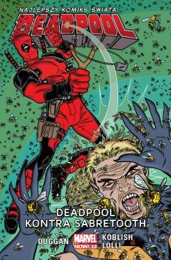 Okładka książki - Deadpool kontra Sabretooth, tom 3
