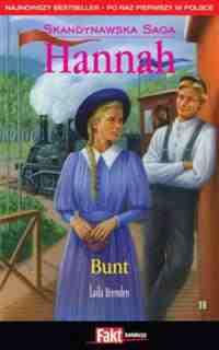 Okładka książki - Hannah. Tom 18. Bunt