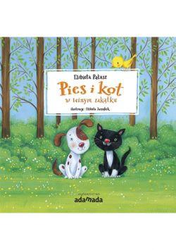 Okładka książki - Pies i kot w leśnym zakątku