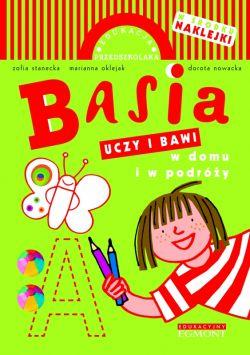 Okładka książki - Basia uczy i bawi w domu i w podróży