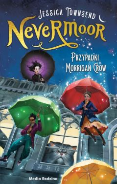 Okładka książki - Przypadki Morrigan Crow