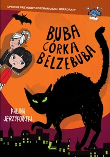 Okładka książki - Buba córka Belzebuba