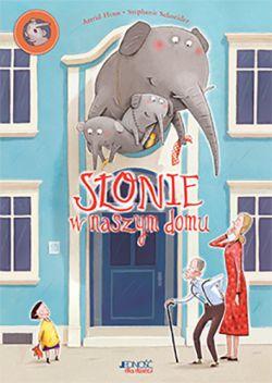 Okładka książki - Słonie w naszym domu