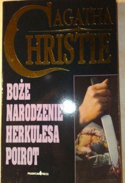 Okładka książki - Boże narodzenie Herkulesa Poirot