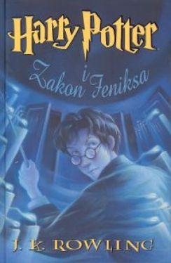 Okładka książki - Harry Potter i Zakon Feniksa